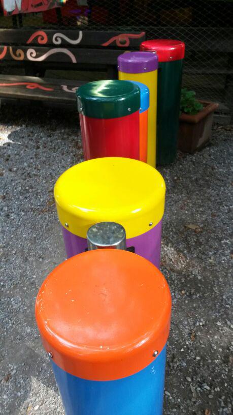 parco di pinocchio: tamburi